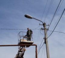 В поселке Мара-Аягъы заменены лампы уличного освещения