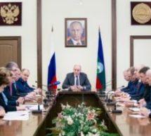 Оперативный штаб, под председательством Р. Темрезова, принял комплекс профилактических мер по профилактики распространения коронавируса