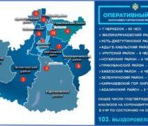 21 апреля в Карачаево-Черкесии подтверждено 16 новых случаев заражения коронавирусной инфекцией