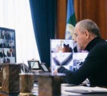 Мэр Карачаевского городского округа Алик Динаев принял участие в совещании, которое провел Глава Карачаево-Черкесской Республики Рашид Темрезов