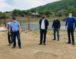 Алик Динаев осмотрел строящийся объект и благоустраиваемые общественные территории в КГО