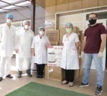 Карачаево-Черкесский госуниверситет передал больнице в Карачаевске аппараты и медикаменты для лечения пациентов с COVID -19