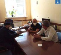Заместитель Мэра КГО Азрет Караев встретился с  главным врачом КЦГРБ и имамом Карачаевска