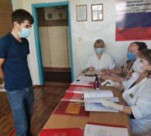 Работа медицинской и призывной комиссии  военного комиссариата города Карачаевск и Карачаевского района  в период проведения призывной кампании весной 2020 года