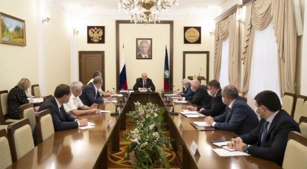 Рашид Темрезов провел совещание по итогам заседания Совета по стратегическому развитию и национальным проектам