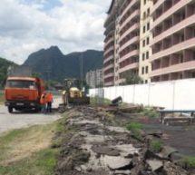 По поручению Главы Карачаево-Черкесской Республики начались работы по ремонту стадиона «Саулукъ» в г.Карачаевске