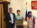 Алик Динаев поздравил воспитанника КСШ «Карачаевск» Мурата Джакупова, завоевавшего бронзу на Первенстве России по вольной борьбе среди юниоров