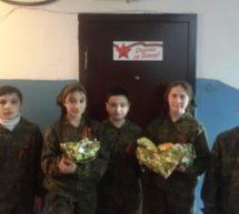 Учащиеся СШ поселка Мара-Аягъы побывали в гостях у ветерана Великой Отечественной войны Марии Датиевой