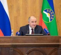 В Карачаево-Черкесии прошла большая пресс-конференция Рашида Темрезова с журналистами
