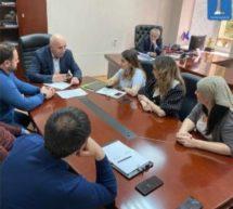 Состоялась встреча  Альберта Дотдаева и сотрудников Администрации КГО с представителем ПАО «Сбербанк»