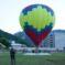 Над  Карачаевском пролетел воздушный шар с огромным баннером, поздравляющим выпускников КЧГУ им. У. Д. Алиева